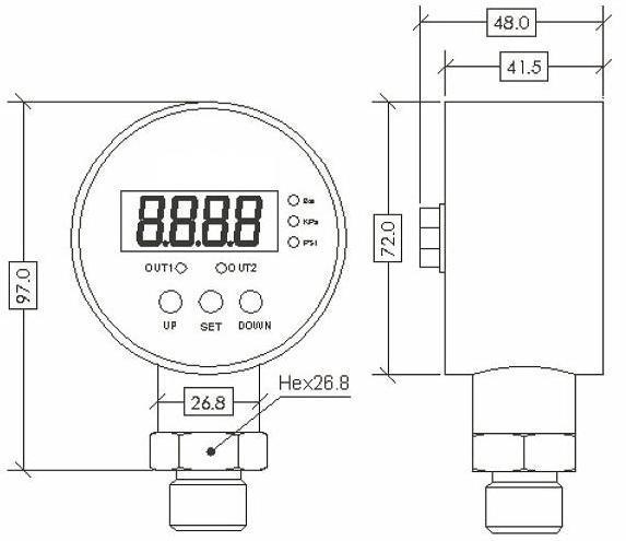 model mc3081 smart differential pressure switch